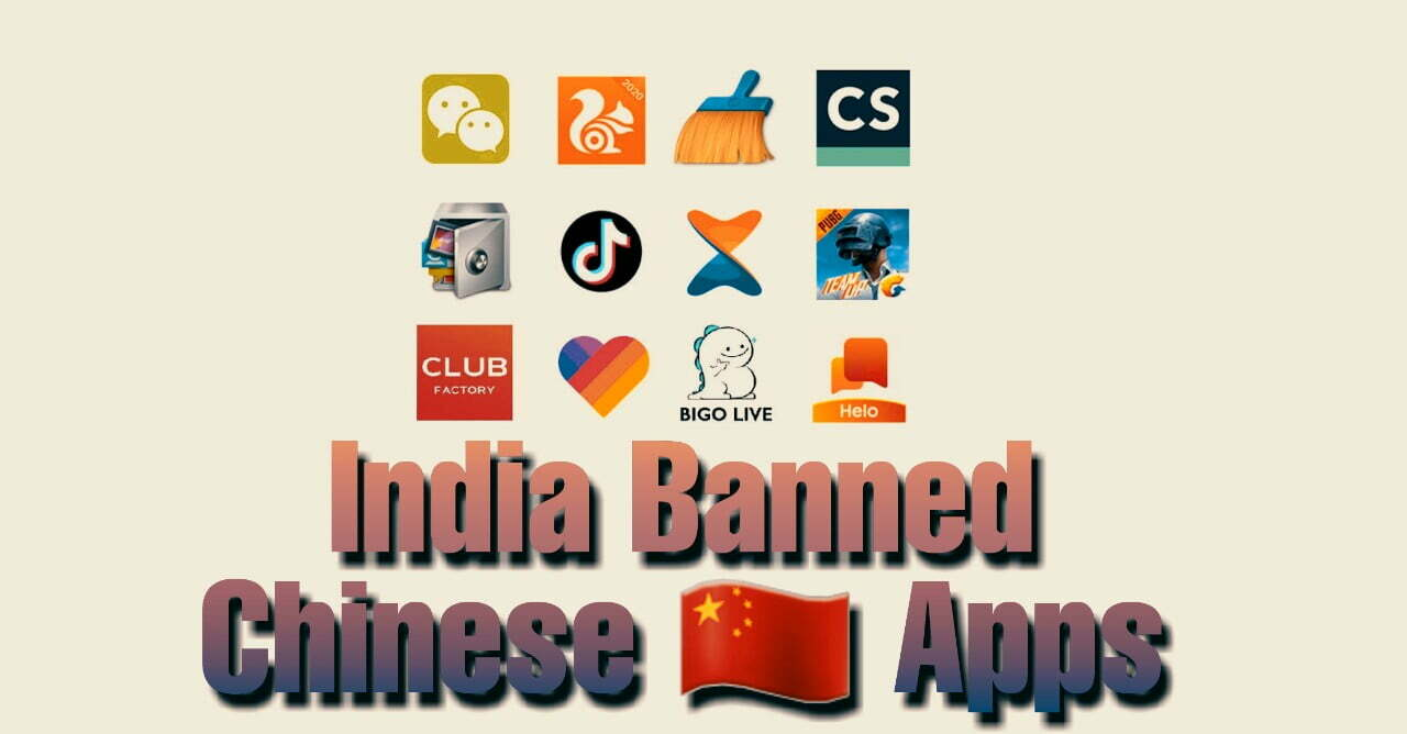 India banned chinese apps