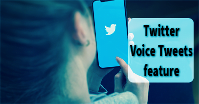 Voice Tweet | Twitter Discovered Voice Tweets feature
