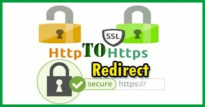 Redirect A Website (http to https) cpanel htaccess