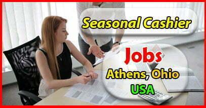 USA Jobs Seasonal Cashier Part-time Jobs Athens, Ohio