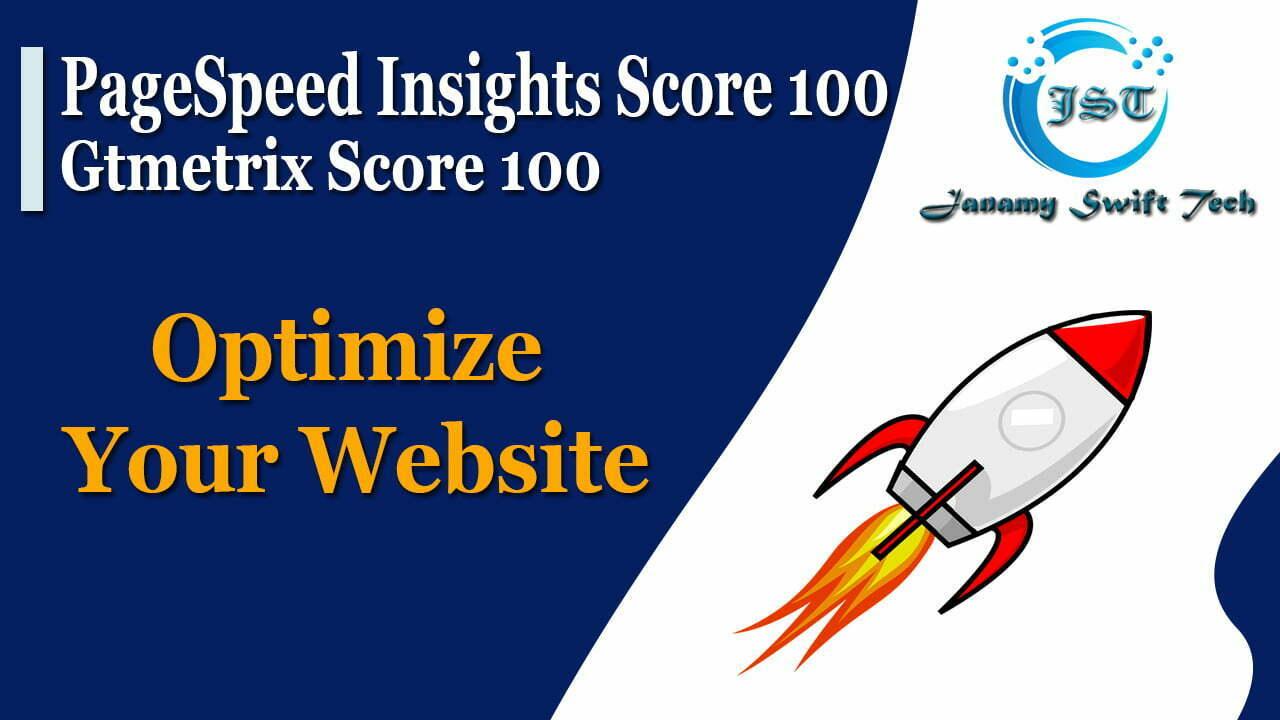 Google PageSpeed Insights Score 100 and Gtmetrix Score 100