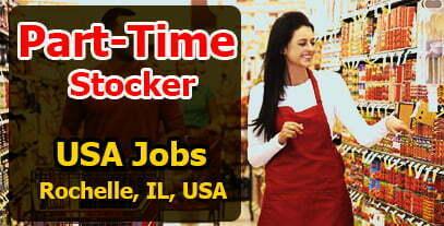 USA Jobs Part-Time Stocker Rochelle, IL, USA