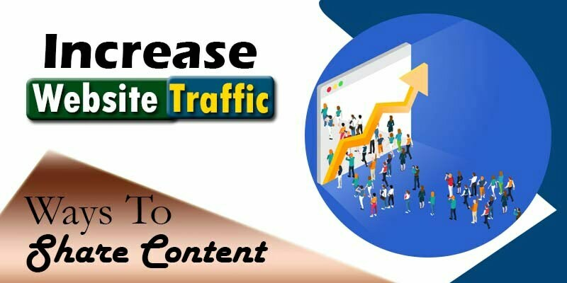 Ways to Share Posts | Increase Traffic on Your Website 2021