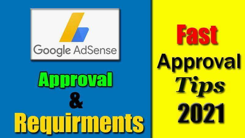 Adsense Requirements 2021   Sustainable Monetized Websites