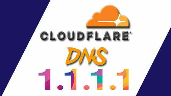 Cloudflare DNS 1.1.1.1: fastest, privacy-first consumer DNS service