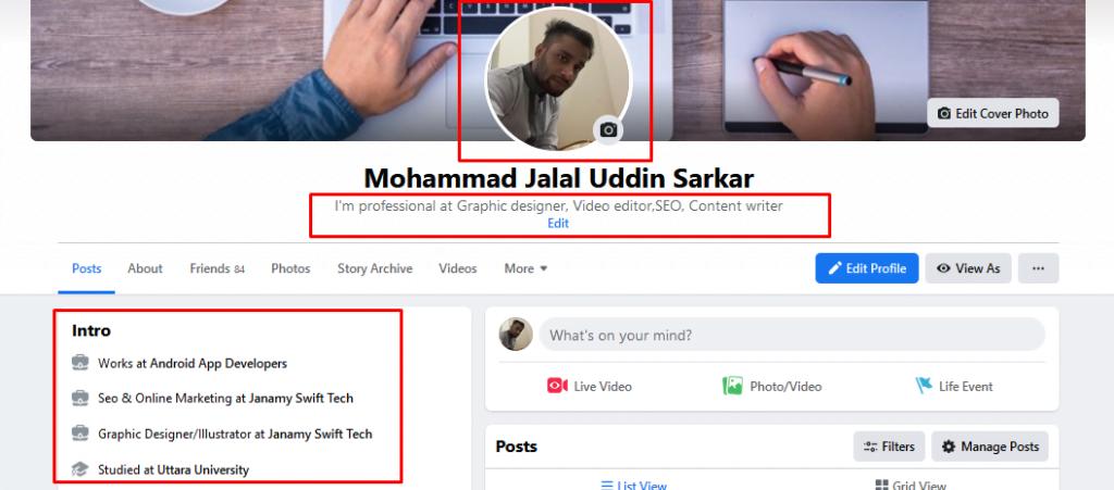 Create a Facebook Business Profile