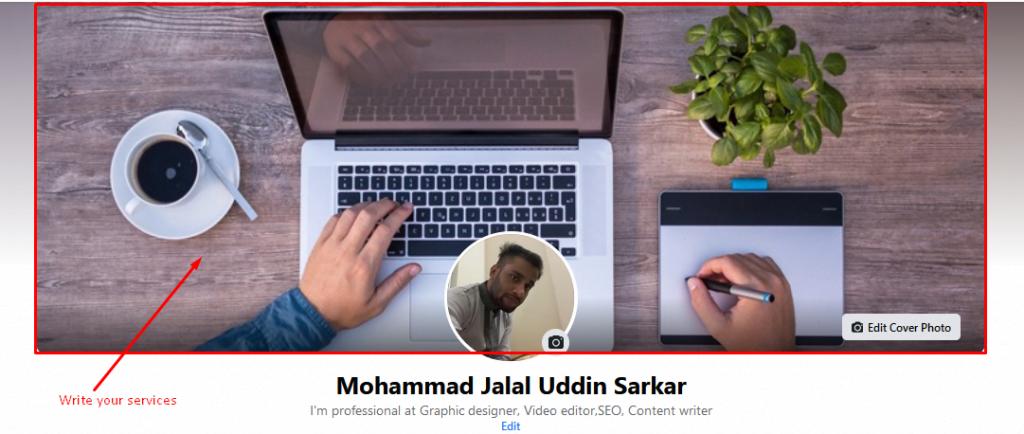 Create a professional Facebook Cover Photo