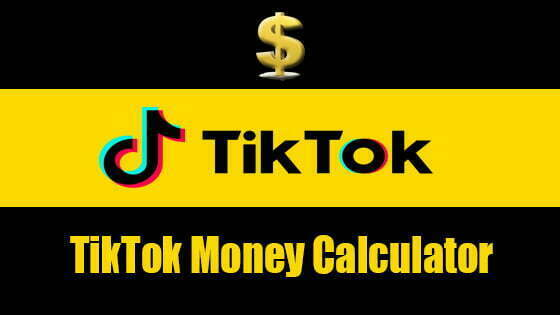 TikTok Money Calculator | Growing TikTok Audience and Earning