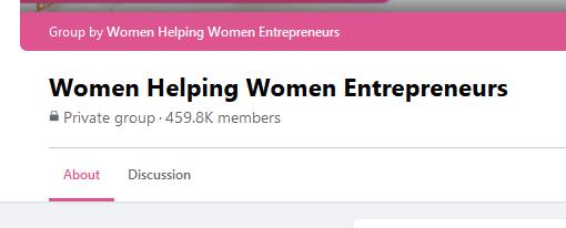 Women helping women entrepreneurs