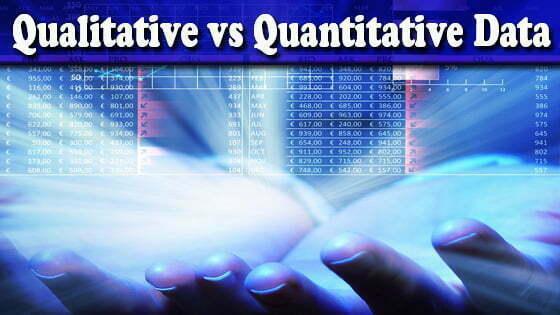 Qualitative vs Quantitative Data Differences & Research