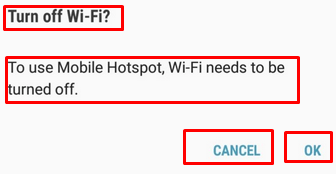 enable wifi and hotspot together
