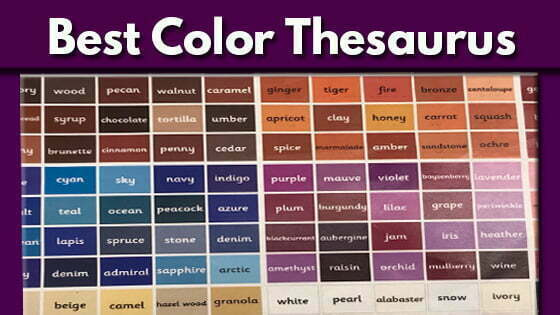 300 Color Names Make the Best Color Thesaurus