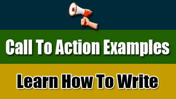 Call To Action Examples (Understand What is CTA)