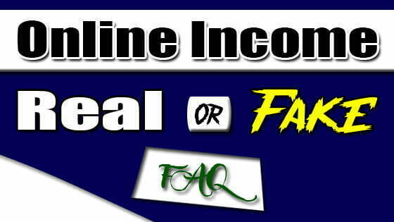 Is Online Income Real