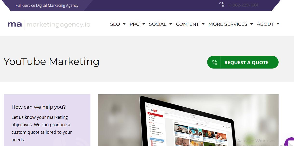 MarketingAgency YouTube Influencer Agency