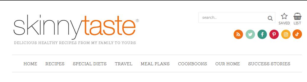 Skinny Taste food bloggers