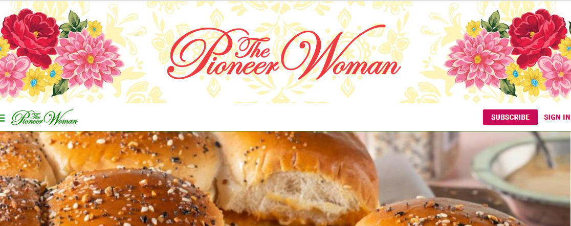 The Pioneer Woman food bloggers