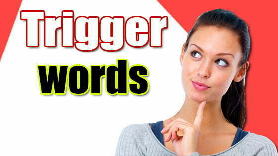 Trigger words examples: Powerful Multimedia Content