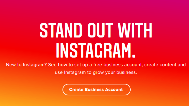 get start with instagram business profile