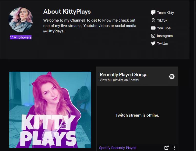 kittyplays twitch tv streamers