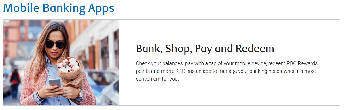 RBC Mobile Banking App