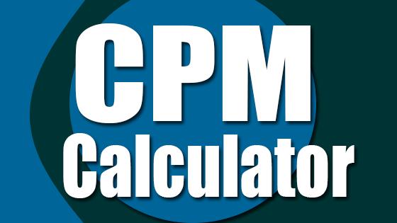 CPM Calculator   Cost Per Mille