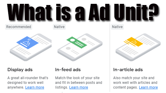 What is a Ad Unit?