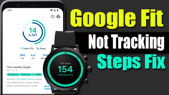 Google Fit Not Counting