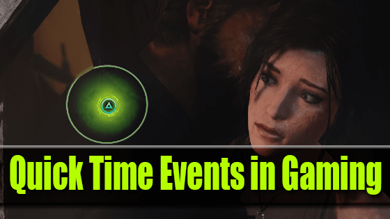Quick Time Events in Gaming