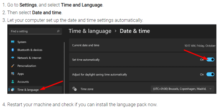 windows 11 date and time settings